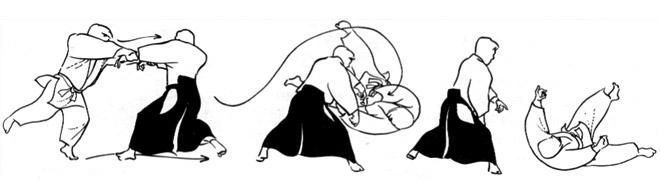 Aikido kokyu nage